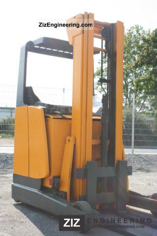 2003 Jungheinrich  ETV 216 with new batteries, 2010 Forklift truck Reach forklift truck photo