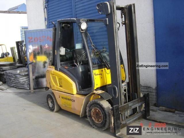 2002 Jungheinrich  DFG-25 BS Forklift truck Other forklift trucks photo