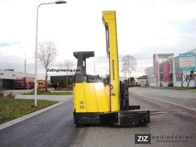 1996 Jungheinrich  ETV-Q 25 / TRIPLO MAST / FORK POSITIONER Forklift truck Reach forklift truck photo