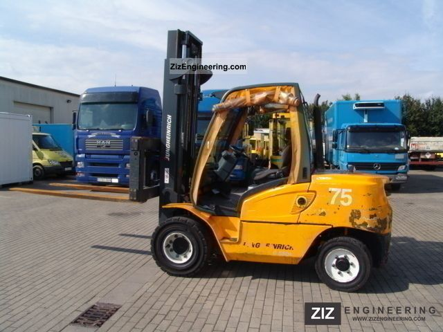 Jungheinrich Dfg 550 S 2007 Front Mounted Forklift Truck Photo And Specs