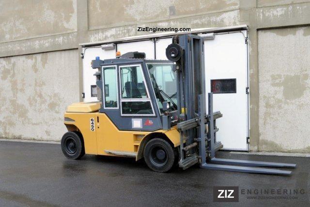 2003 Jungheinrich  TFG 80, SS, BMA, TRIPLEX, CABIN Forklift truck Front-mounted forklift truck photo