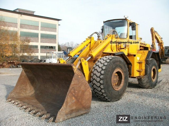 1978 Kalble  Kälble SL 18 B Construction machine Wheeled loader photo