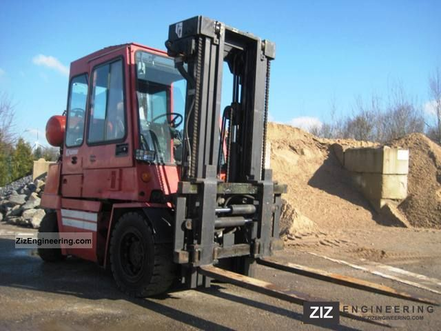 Kalmar Bc3 500 1994 Front Mounted Forklift Truck Photo And