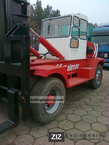 1982 Kalmar  LMV 15-600 Forklift truck Front-mounted forklift truck photo