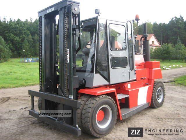 2003 Kalmar  DCD 80-6 Forklift truck Front-mounted forklift truck photo