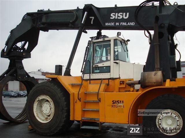 2000 Kalmar  SISU RTD 1523, built 2000 Forklift truck Other forklift trucks photo