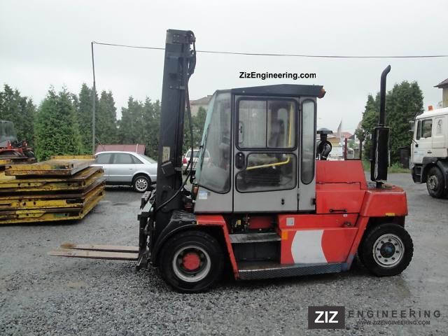 2003 Kalmar  DCD 70-6 Forklift truck Front-mounted forklift truck photo