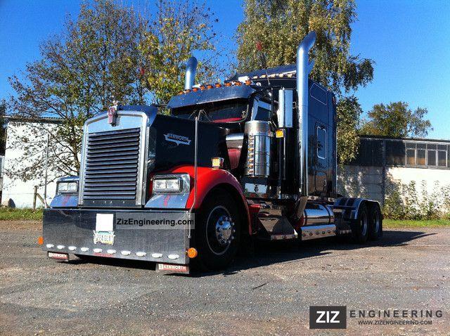 2007 Kenworth W900l Truck Show Semi Trailer Standard Tractor Unit Photo