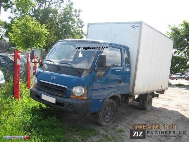 2003 Kia  SD K2500 Van or truck up to 7.5t Other vans/trucks up to 7,5t photo