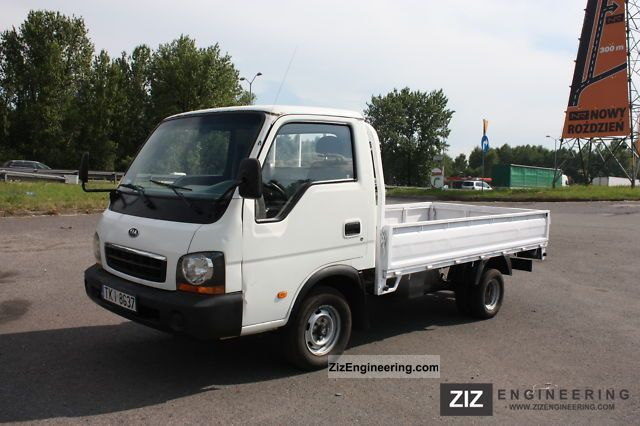 Kia K2500 2002 Box Truck Photo And Specs