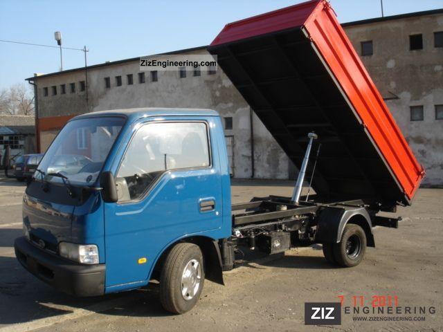 Kia K2700 2001 Tipper Truck Photo And Specs