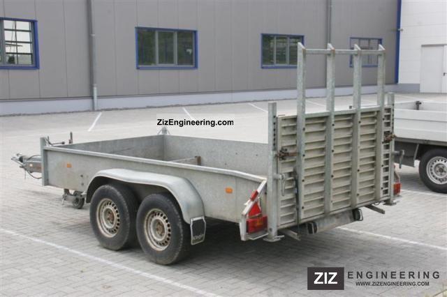 1995 Klagie  Forklift trailer / trailer Trailer Car carrier photo