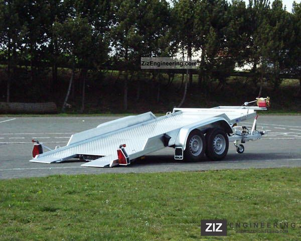 2011 Klagie  Vehicle / car trailer, tilting Trailer Car carrier photo