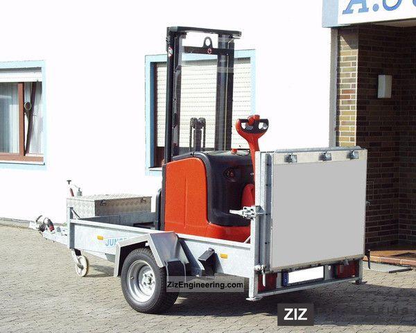Single Axle Trailer Specs : Klagie single axle trailer loader can be lowered