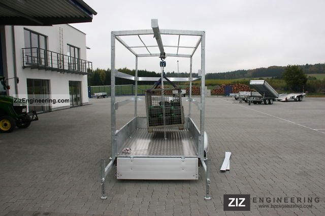 Hydraulic Platform Trailers : Klagie crane trailer