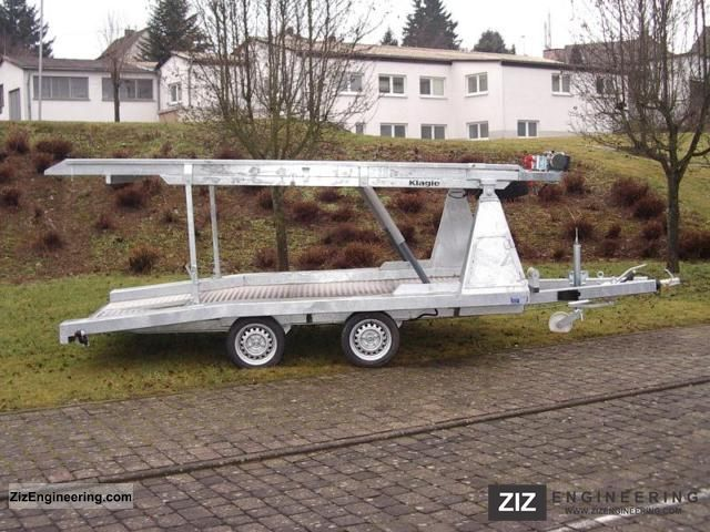 2011 Klagie  Vehicle / car double-deck trailer Trailer Car carrier photo