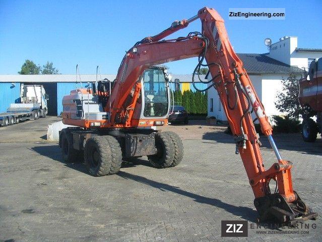 2003 Kobelco  E145W Construction machine Mobile digger photo