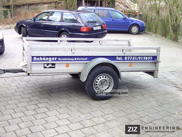 Koch 2002 trailer photo and specs for Koch 125 250
