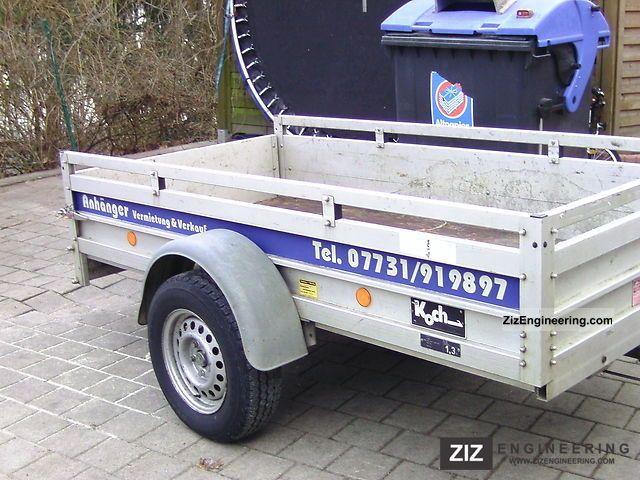 Koch 2002 trailer photo and specs for Koch 125 250