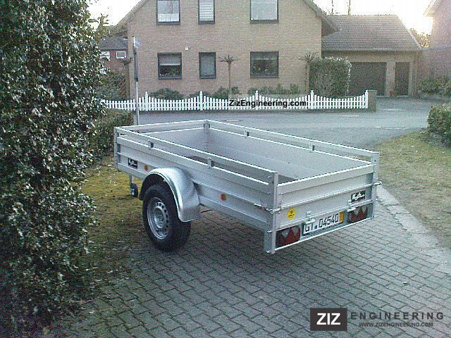 Koch u 4 125 x 250 750kg 2012 trailer photo and specs for Koch 125 250