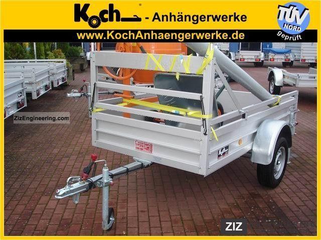 Прицеп для легкового автомобиля в германии