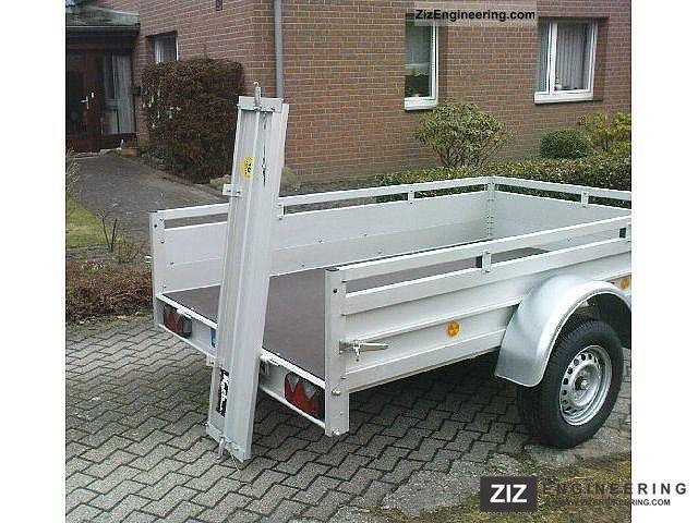 Koch u 7 150 x 300 750kg 2012 trailer photo and specs for Koch 150 300