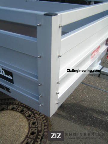 Koch hobby 1200 kg braked bkb 2011 trailer for Koch 125 250