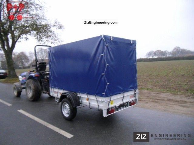 Koch 1200kg aluminum truck tarpaulin for Koch 125 250