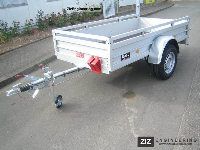 Koch alu 100 km h 250 x 125 x 45 cm bkb 2011 for Koch 125 250