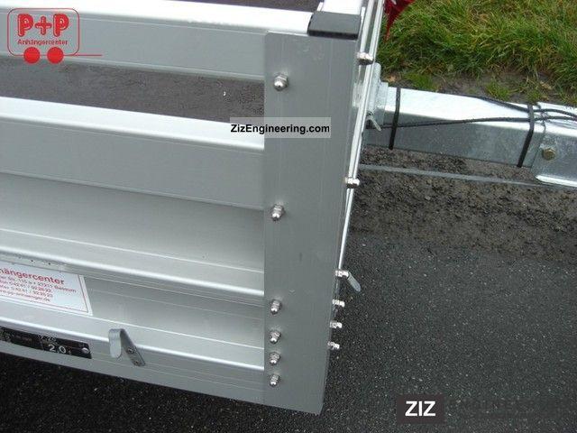Koch 1200kg 180cm aluminum for Koch 125 250