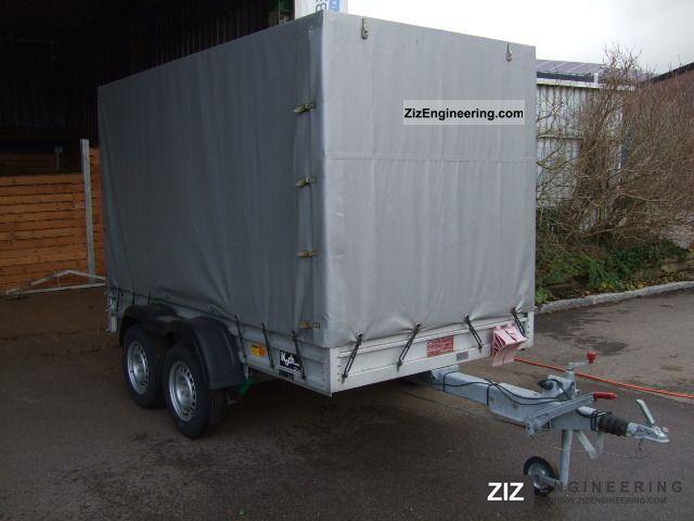Koch type hobbyline 2004 trailer photo and specs for Koch 150 300