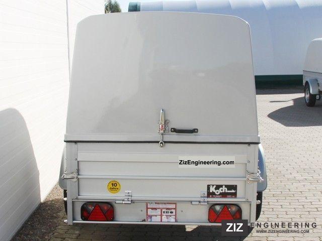 Koch 125x250cm 750kg 125cm hood interior height 2012 for Koch 125 250
