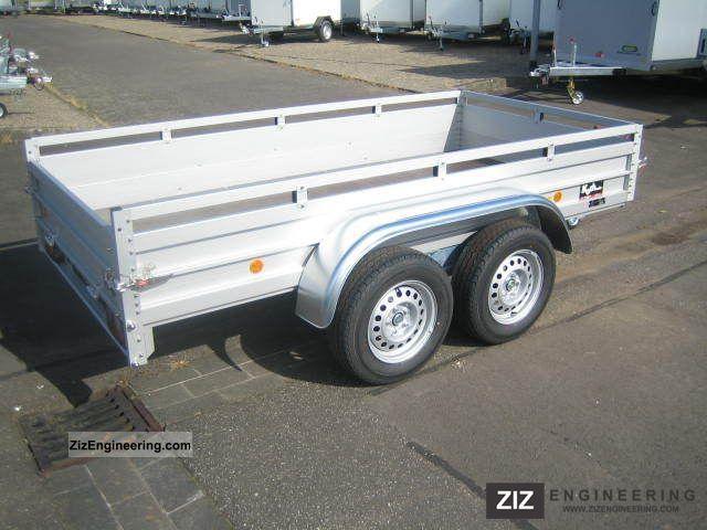 Koch aluminum trailer gvw 2600 kg bkb 2011 for Koch 150 300