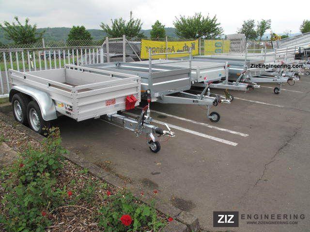 Koch alu 250x125x45cm 2 6 tonnes gvw ckc 2011 for Koch 125 250