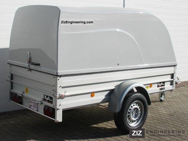 Koch 125x250cm 1 3 t hood 125cm interior height 2012 box for Koch 125 250