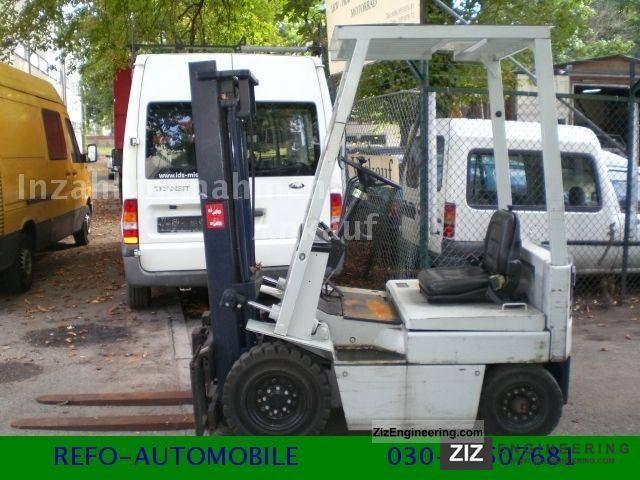 2000 Komatsu  FB 15 - 5, 4 Radstapler, electric - drive Forklift truck Front-mounted forklift truck photo