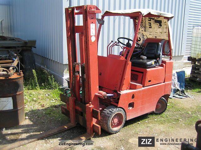 2011 Komatsu  2.5t Forklift truck Front-mounted forklift truck photo