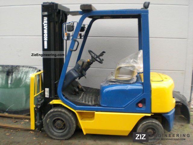 1996 Komatsu  FD15HT 1E1 Forklift truck Front-mounted forklift truck photo