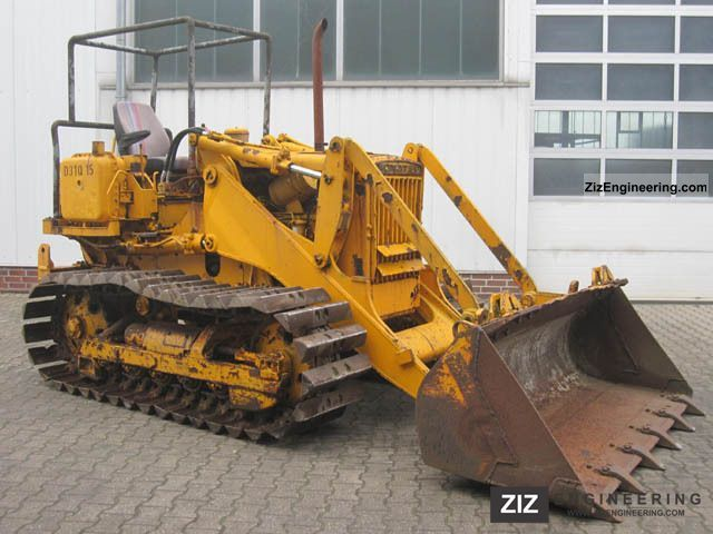 1977 Komatsu  D31P Laderaupe 1.5m ³ Construction machine Dozer photo