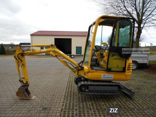 2001 Komatsu  PC12/15R 8 Construction machine Mini/Kompact-digger photo