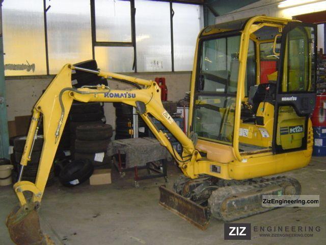 2003 Komatsu  PC 12 R Construction machine Mini/Kompact-digger photo