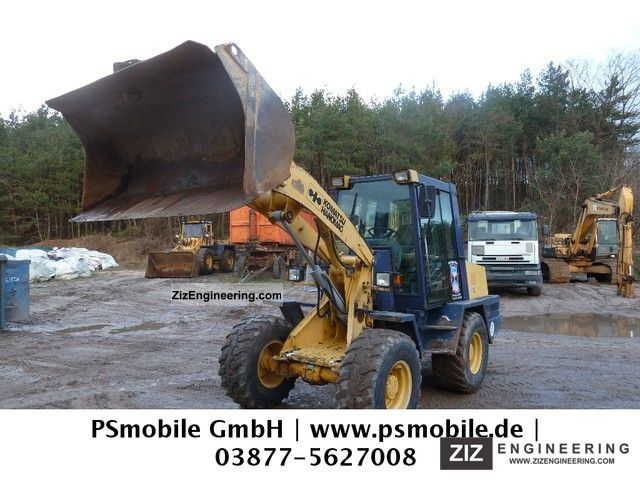 1994 Komatsu  15 F / Year 1994 / 11,000 hours Construction machine Wheeled loader photo