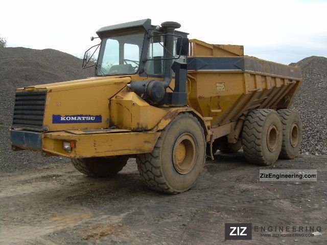 1987 Komatsu  HA 270, Dumper, rear Achsschaden Construction machine Other construction vehicles photo