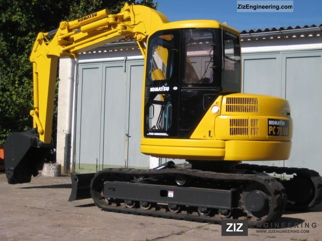 Komatsu Pc 75 Uu 2 Air Conditioning 2011