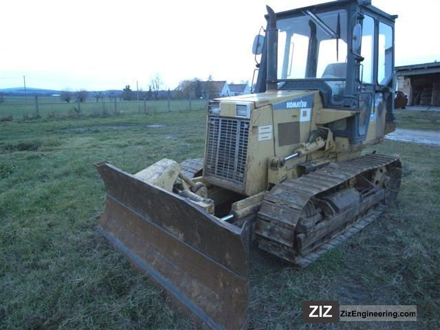 1992 Komatsu  D 37 E - 3-tooth Heckaufreiser, 6-way blade Construction machine Dozer photo