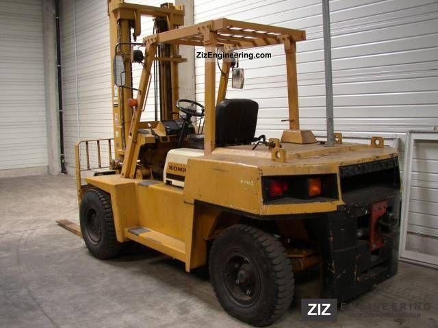 1988 Komatsu  FD 70 Forklift truck Front-mounted forklift truck photo