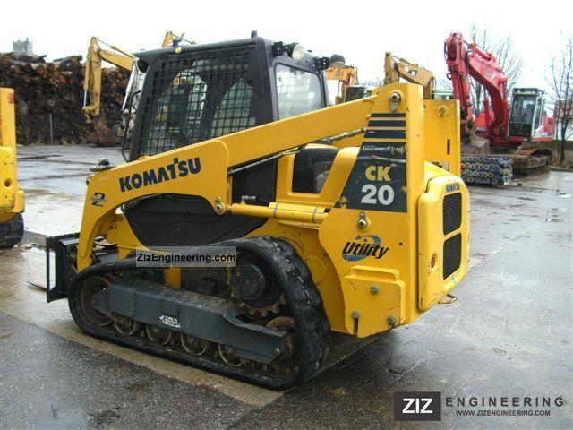 2007 Komatsu  CK 20-1 tracked skid steer loader Construction machine Wheeled loader photo