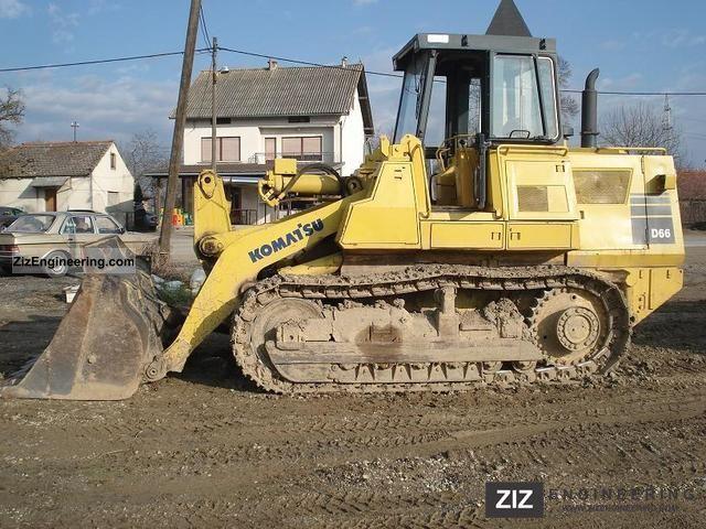 1988 Komatsu  D66 S1 Construction machine Dozer photo