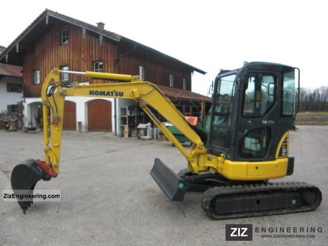 2008 Komatsu  PC 35 MR Construction machine Caterpillar digger photo
