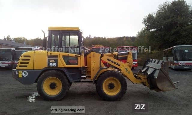 2011 Komatsu  WA 95 WA 75 * / 85 * WA Construction machine Wheeled loader photo